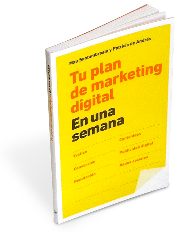 Libro Tu plan de marketing digital en una semana